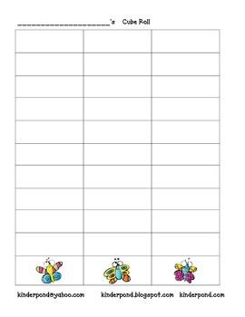 Cube Roll: Crazy Butterflies (easy)