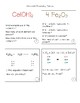 Cubes- Chemistry
