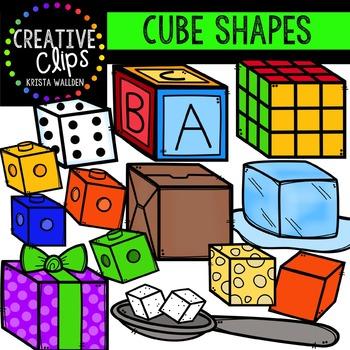 Cubes {Creative Clips Digital Clipart}