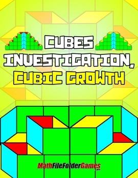 Cubes Investigation, Cubic Growth {Measurement Game}