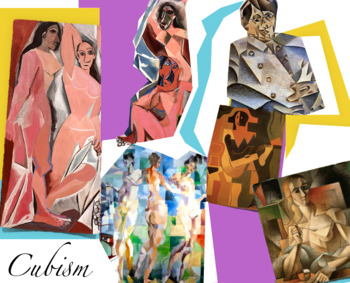 Cubism Art History ~ FREE POSTER ~ Cubists