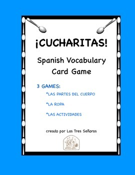 Cucharitas Games: Body Parts, Clothing, and Activities