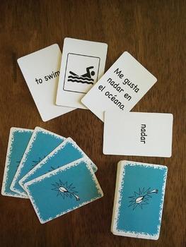 Cucharitas actividades Card Game (Hard Good)