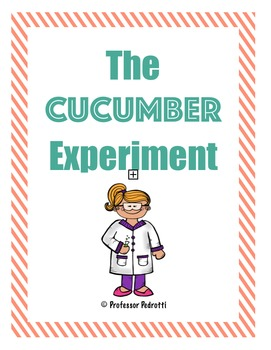 Cucumber Osmosis Experiment - Sample Lab Activity