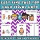 Cue Cards (large) set 1: Visual Behavior Tool Book (Autism