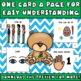 Cue Cards (large) set 2: Visual Behavior Tool Book (Autism