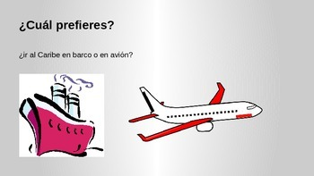Spanish ¿Cuál prefieres?  Would you rather?