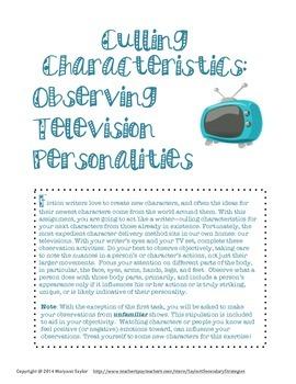 Characterization: Creating Memorable Characters