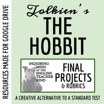 The Hobbit Post-Reading Project (Common Core Aligned)