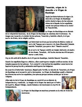 Cultura - La Virgen de Guadalupe: Part 2