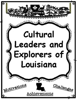 Cultural Leaders and Explorers of Louisiana Research Graph