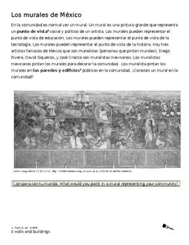 Cultural Reading-los muralistas