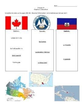 Culture: L'Amérique francophone
