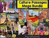 Culture Reading Passages Bundle