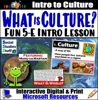 Culture Survey and Creative Writing Lesson