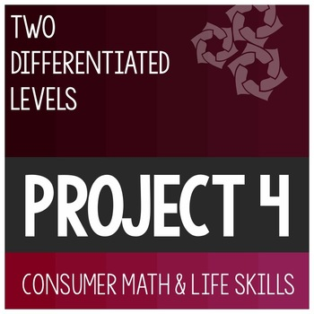 Cumulative Differentiated Project 4- High School Special E
