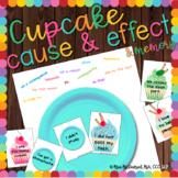 Cupcake Cause & Effect  {and bonus cupcake matching game!}