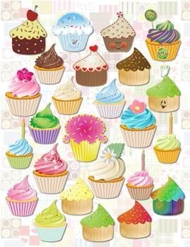 Cupcake Clipart Collection