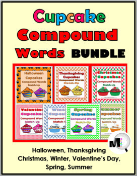 Compound Words Bundle for the Entire Year ~ 50% Discount