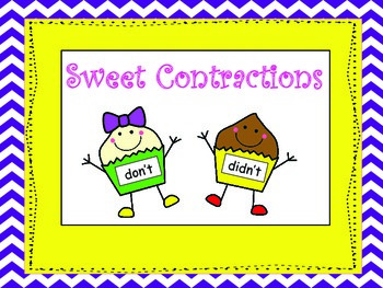 Sweet Cupcake Contractions
