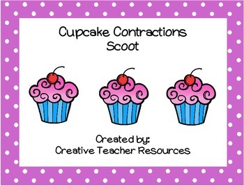 Cupcake Contractions Scoot