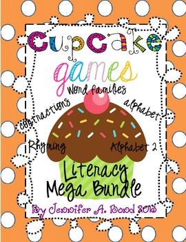 Cupcake Games Literacy Mega Pack