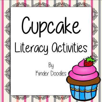 Cupcake Literacy Activities