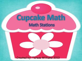 Cupcake Math Stations