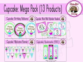 Cupcake: Mega Pack