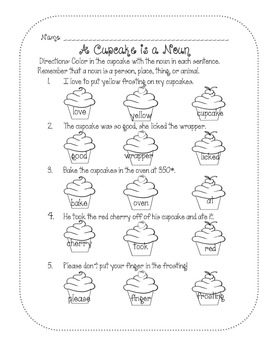 Cupcake Packet Sample - Freebie!