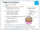Cupcake Shop-  Interactive Speech, Language & Cognitive Ac