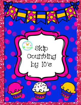 Cupcake Skip Counting by Tens