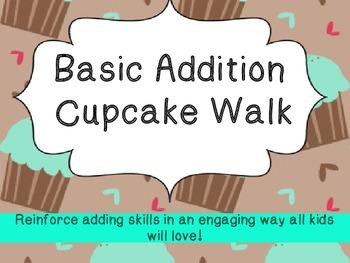 Cupcake Walk: Basic Addition