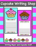Cupcake Writing Shop, Cupcake Writing Paper and Paper Craft
