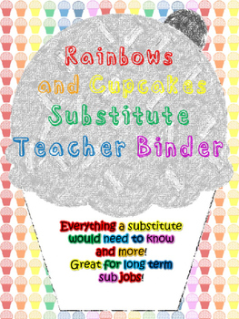 Cupcakes and Rainbows Substitute