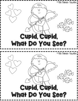 Cupid, Cupid, What Do You See? Emergent Reader
