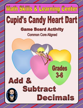Valentine's Math Skills & Learning Center (Add & Subtract