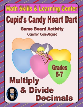 Valentine's Math Skills & Learning Center (Multiply & Divi