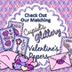 Be My Valentine Clip Art {Cupid Post Office Delivery Graph