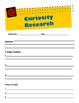 Curiosity Research Journal