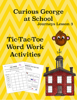 Curious George Goes to School Journeys Lesson 3