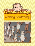 Curious George Writing Craftivity Monkey Bulletin Board