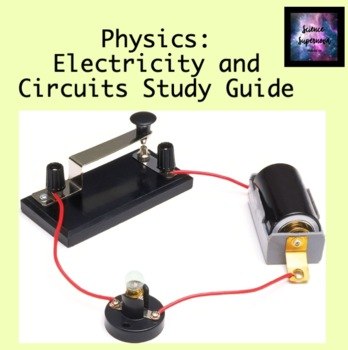 Current Electricity and Circuits Study Guide