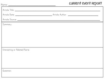 Current Event Organizers