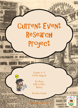 Current Event Research Project