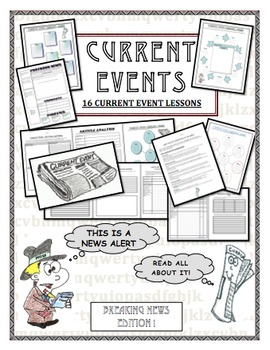 Current Events 16 Different Lessons!