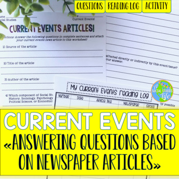Current Events - Answering Questions based on Newspaper Articles