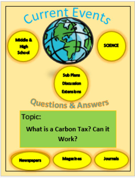 Current Events Science: What is a Carbon Tax? Will it Work?