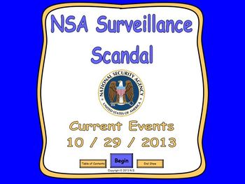 Current Events Lesson - NSA Surveillance Scandal
