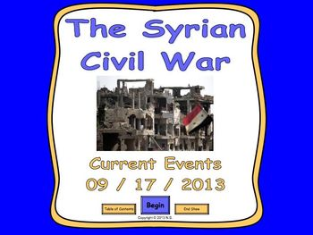 Current Events Lesson - The Syrian Civil War